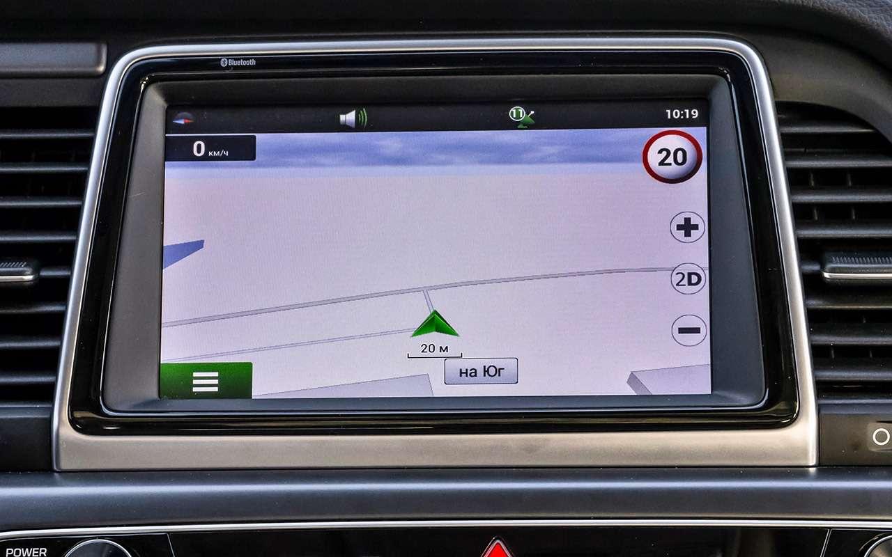 Hyundai Sonata против конкурентов— большой тест ЗР— фото 834874