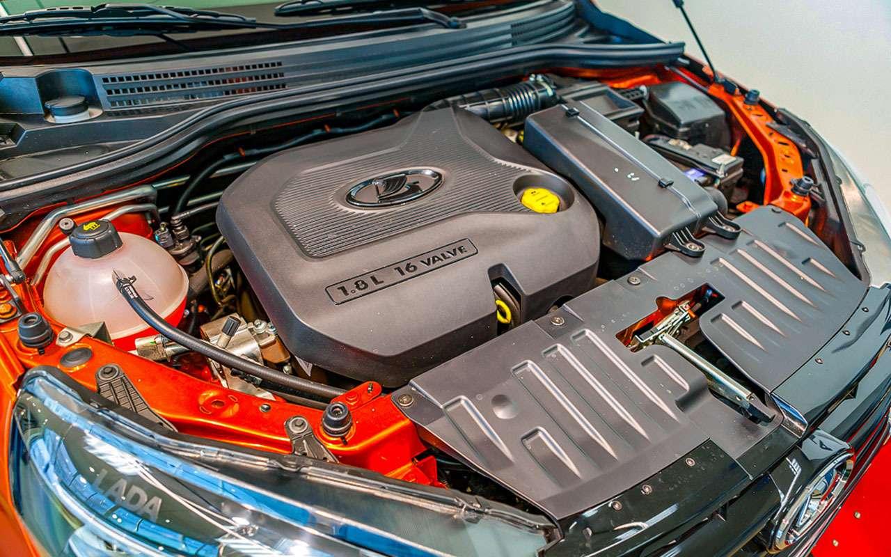9 признаков, почему Lada Vesta Cross лучше кроссовера— фото 895748