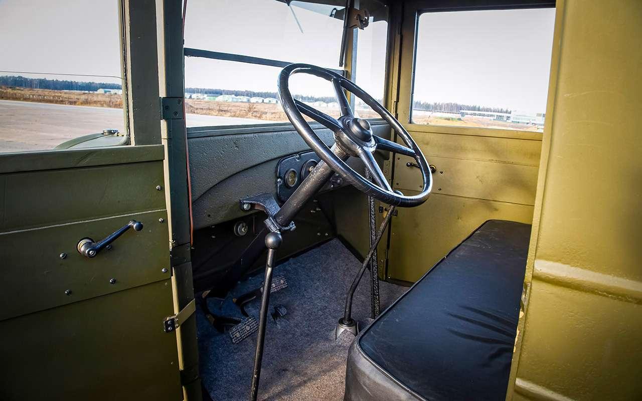 Машины Победы: ретротест настоящих фронтовых грузовиков— фото 1121592