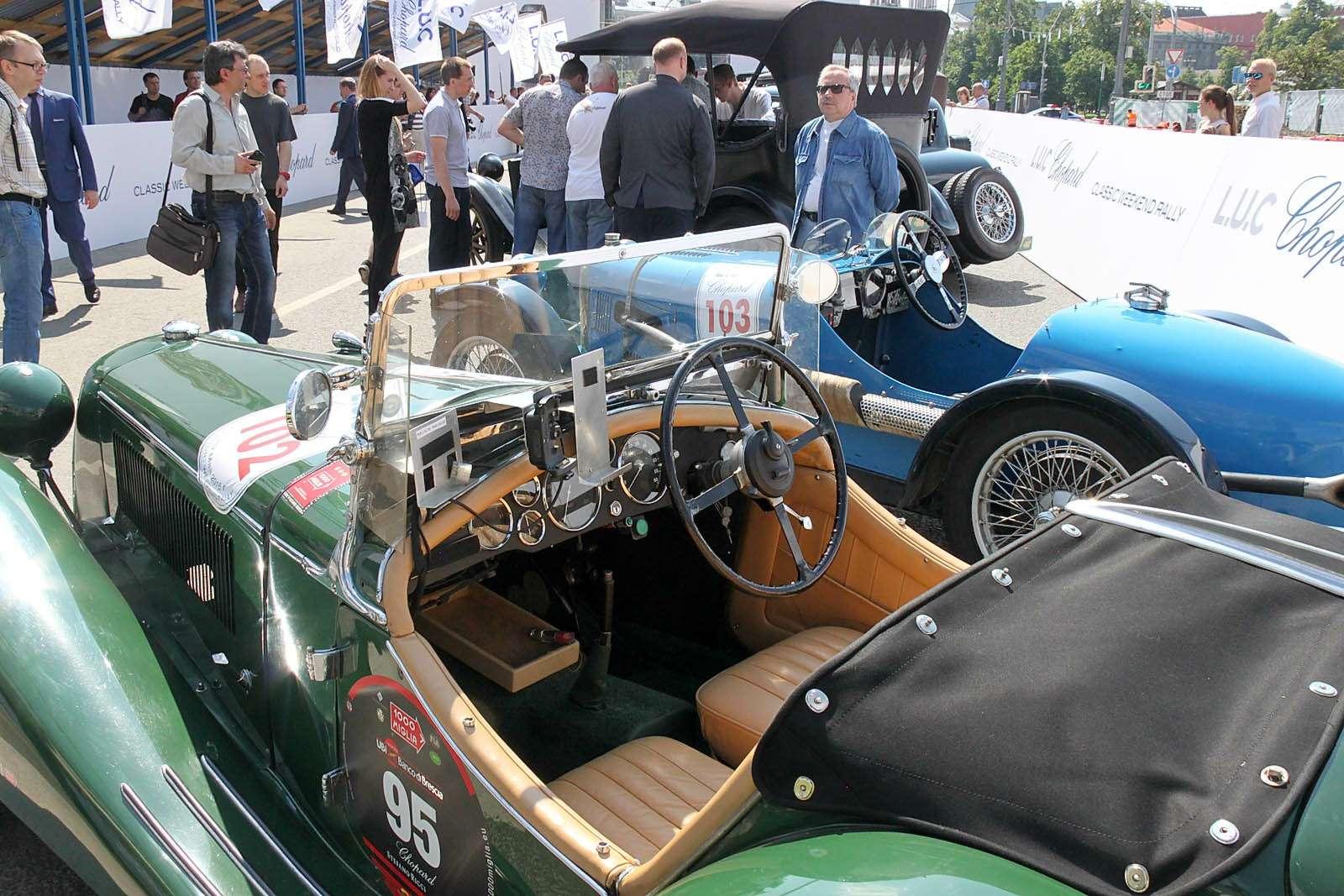 L.U.C Chopard Classic Weekend Rally: эмоции сналетом старины— фото 595981