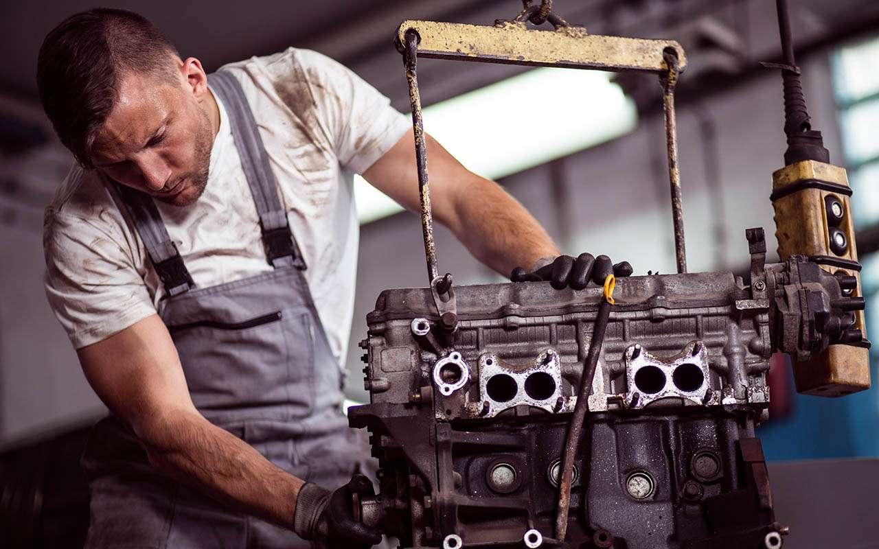 Самые выгодные двигатели при капиталке — рейтинг «За рулем»
