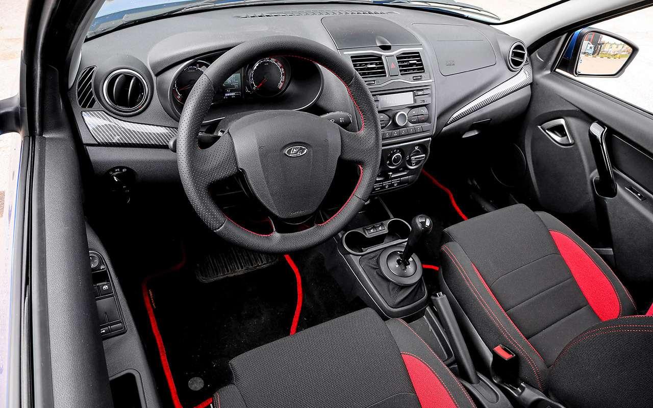 Самая дорогая (исамая быстрая) Lada Granta: тест-драйв свидео— фото 1126033