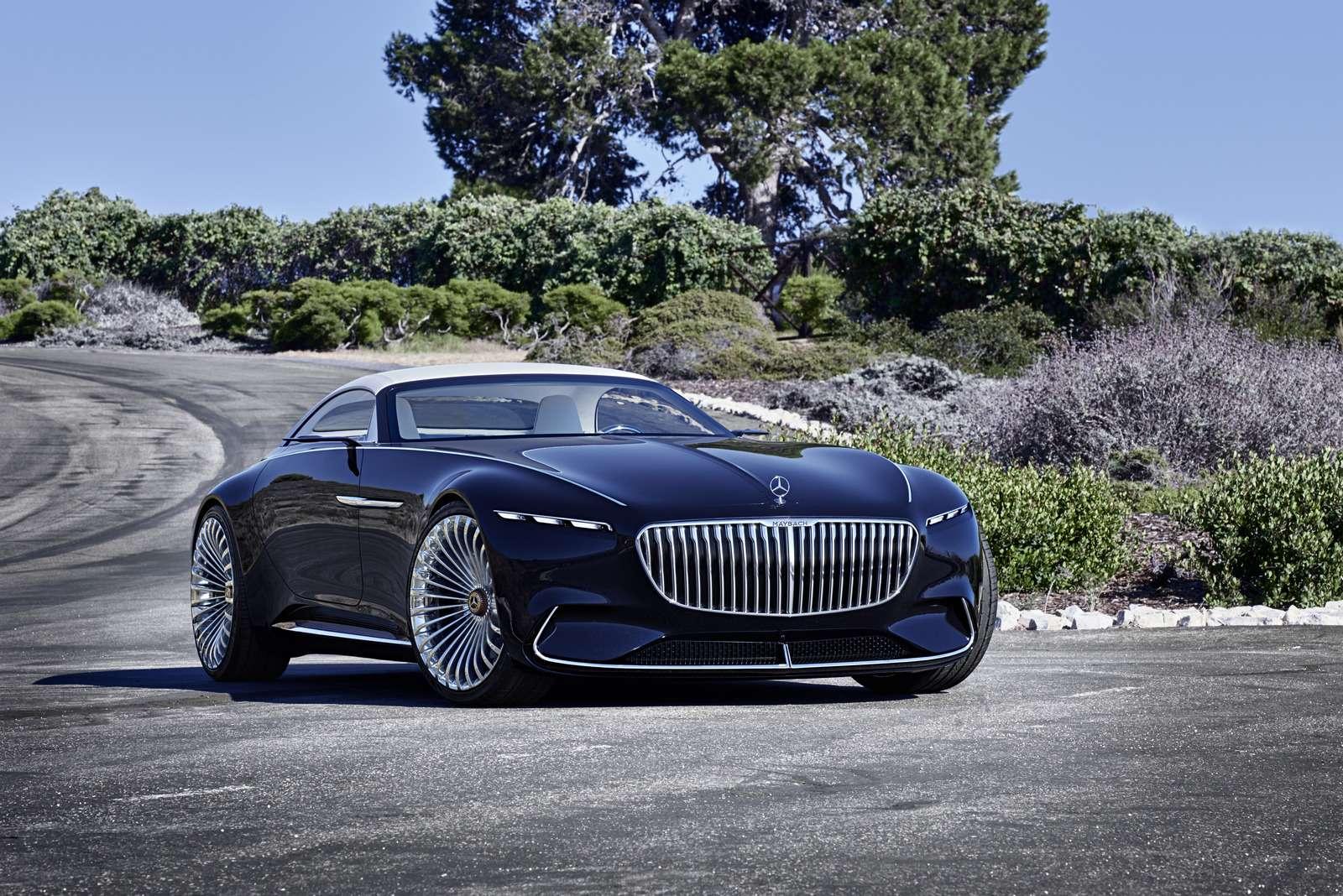 Пикник подкапотом: представлен кабриолет Mercedes-Maybach Vision 6— фото 786175