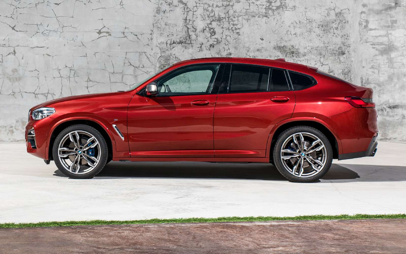 Новый BMW X4: искусство маскировки— фото 844918