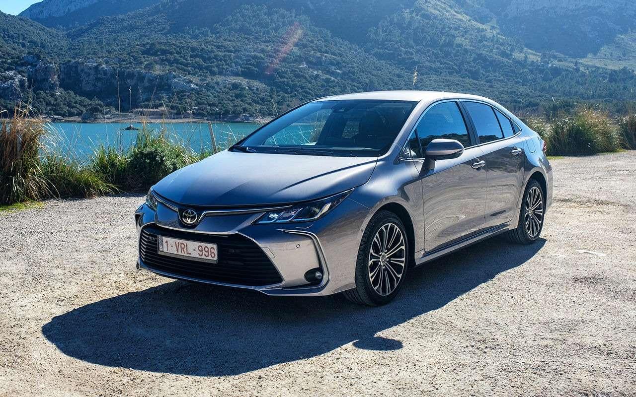 Новая Toyota Corolla: почему так дорого?!— фото 949324