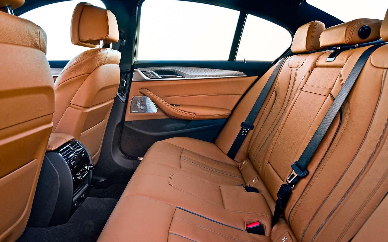 Тест новой «пятерки» BMW: большой брат— фото 685127