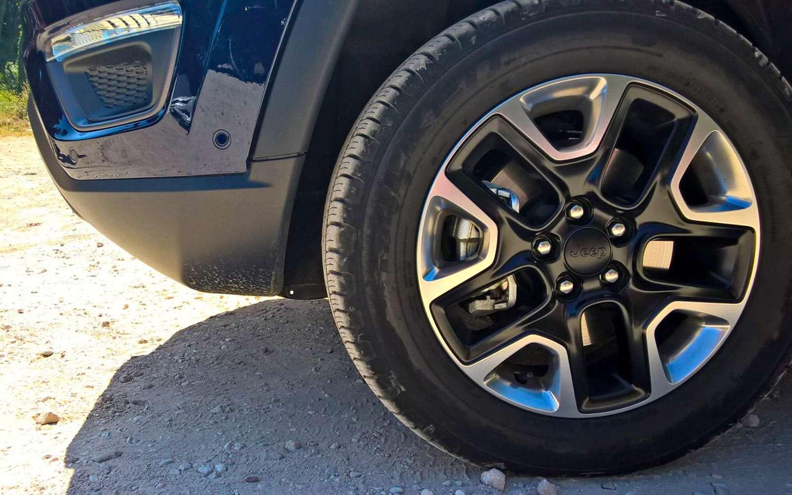 Новый Jeep Compass— тест-драйв ЗР— фото 778116