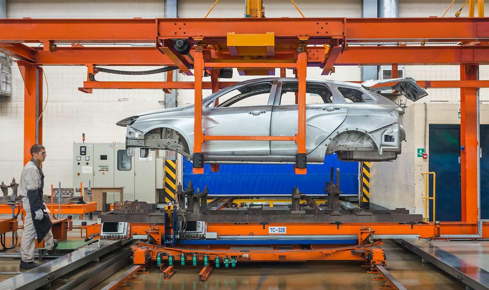 Началось производство универсалов Lada Vesta SWиSWCross— фото 793315