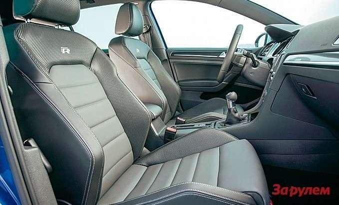 Volkswagen Golf R: изгнание козы — фото 261487