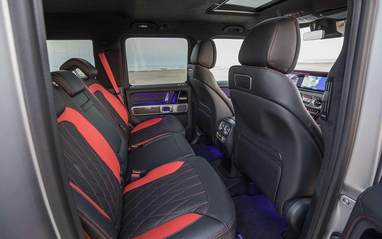 Новый Mercedes-Benz G-класса: первый тест-драйв— фото 867939