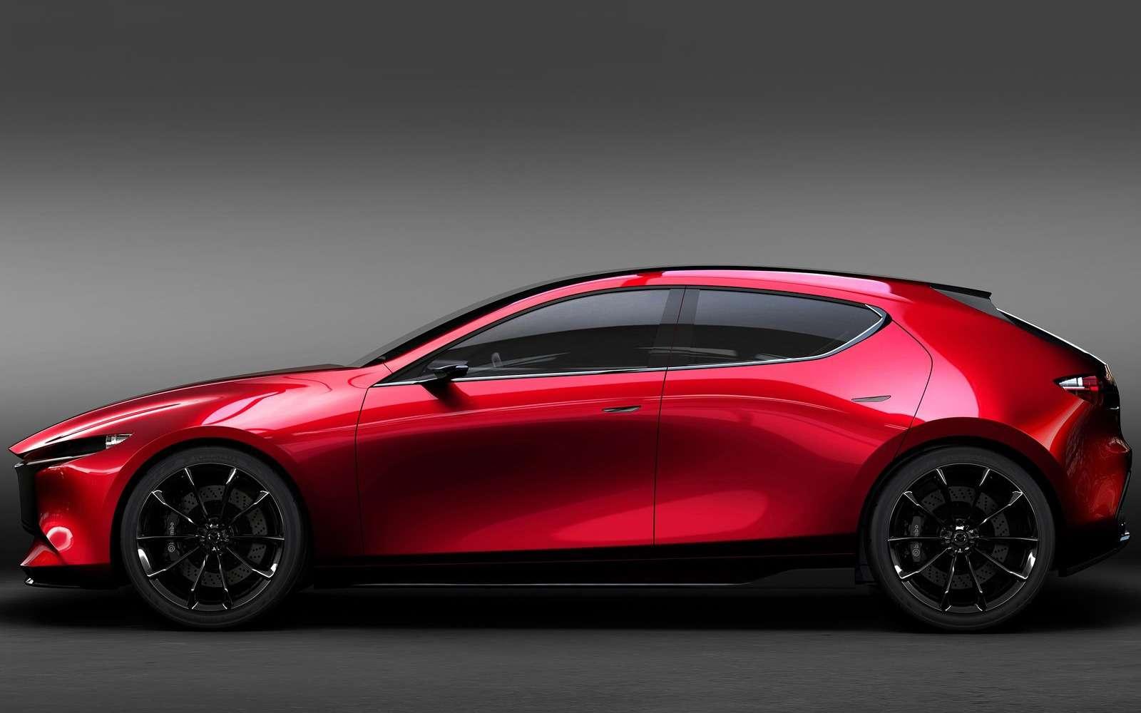 Новая Mazda 3: мызнаем, как она будет выглядеть— фото 809160