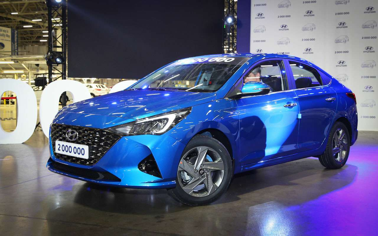 Обновленный Hyundai Solaris: близкое знакомство— фото 1085075
