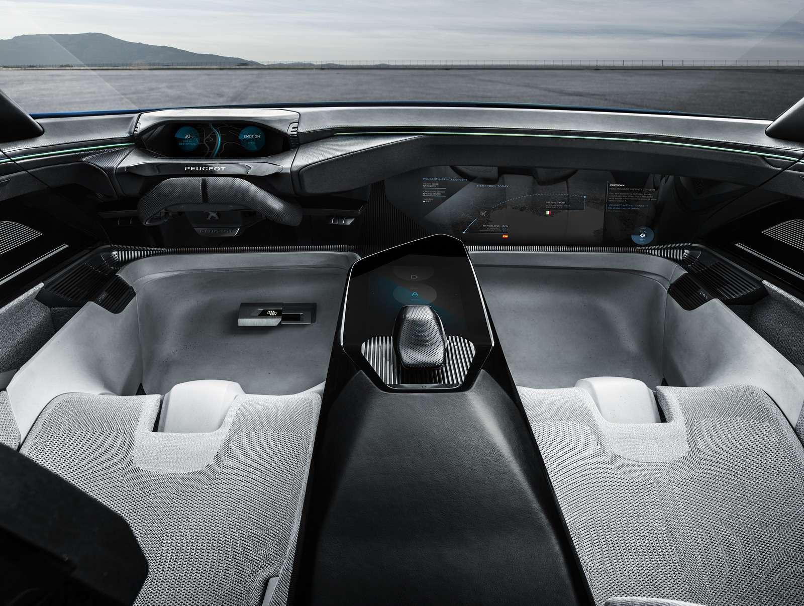 Peugeot Instinct: ваше первое «Я»— фото 713226