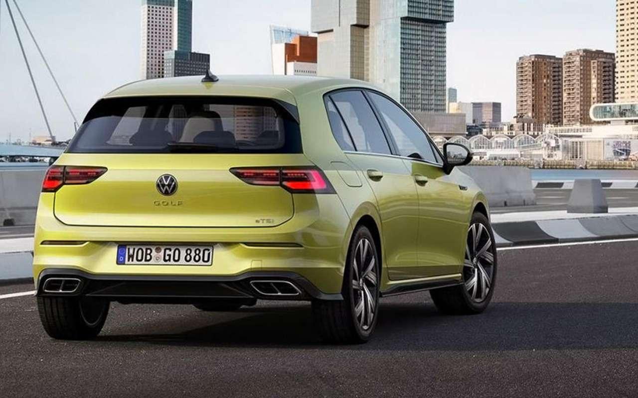 Новый Volkswagen Golf: запланированная «утечка» доофициальной премьеры— фото 1004398