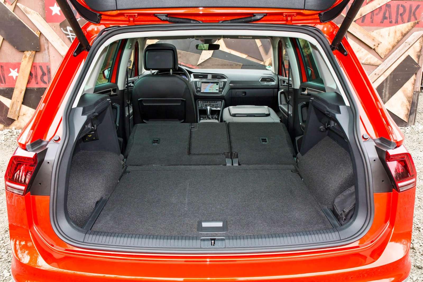 Тест нового Volkswagen Tiguan: победа экологов надавтоспортсменами— фото 594456