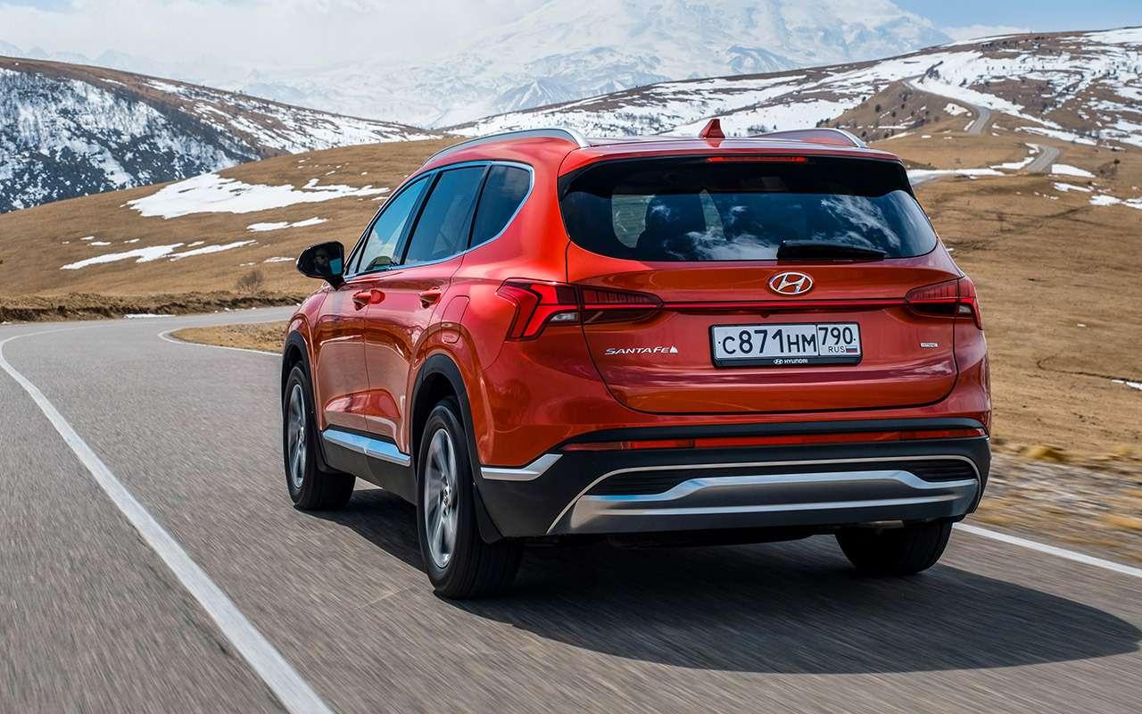 Обновленный Hyundai Santa Fe: тест самой мощной версии— фото 1249462