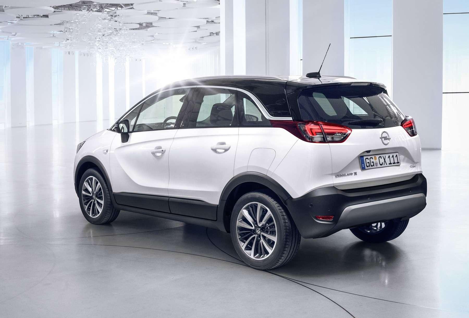 Кроссовер Opel Crossland Xпредставлен официально— фото 694503
