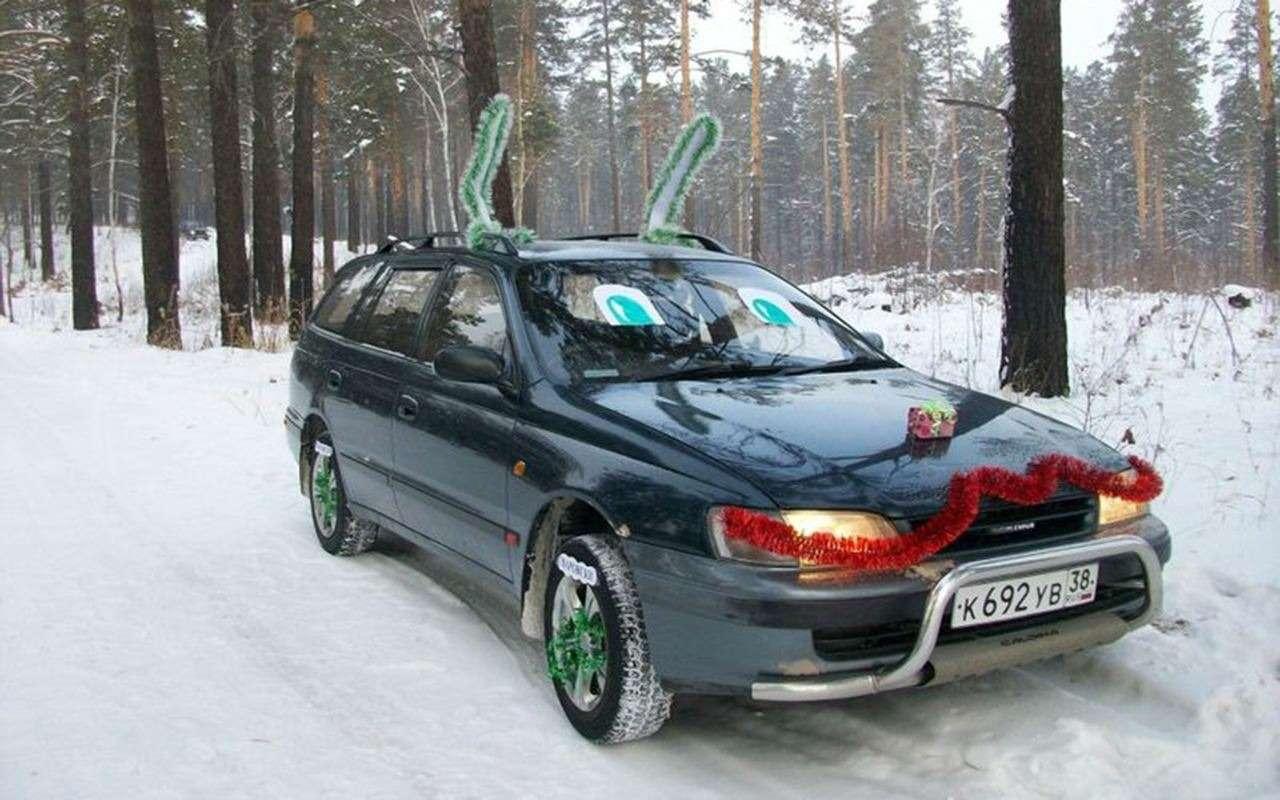 Самые безумные украшения дляавтомобилей наНовый год— фото 826679