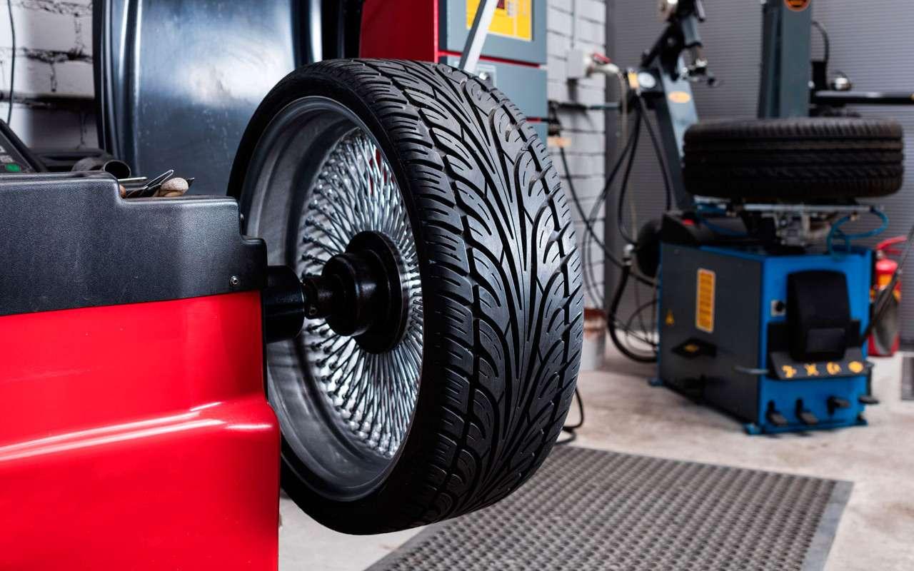 Пора менять колеса: конкурс про балансировку идисбаланс— фото 961041