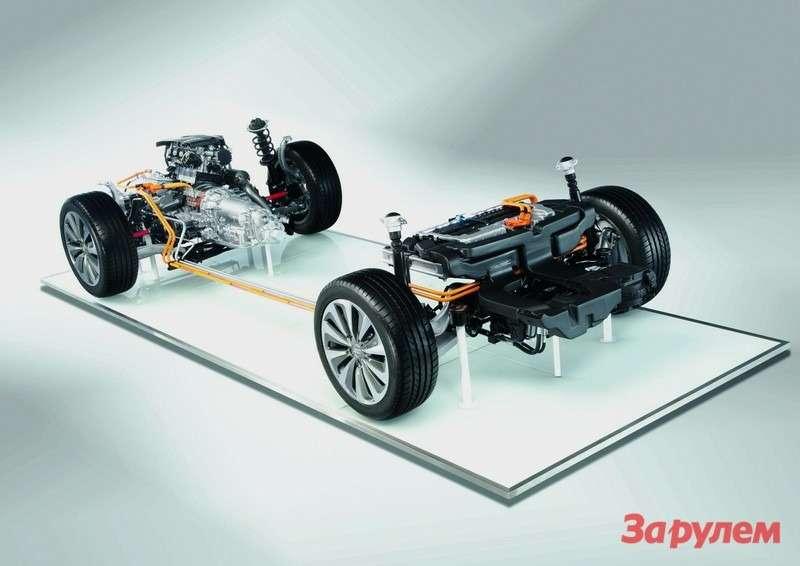 Audi A6hybrid/Antriebsstrang