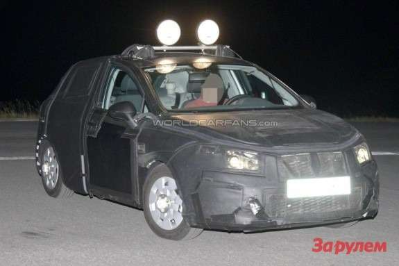 Facelifted SEAT Ibiza side-front view