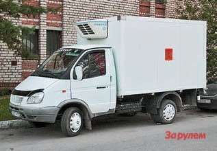 ГАЗ-3102 рефрижератор