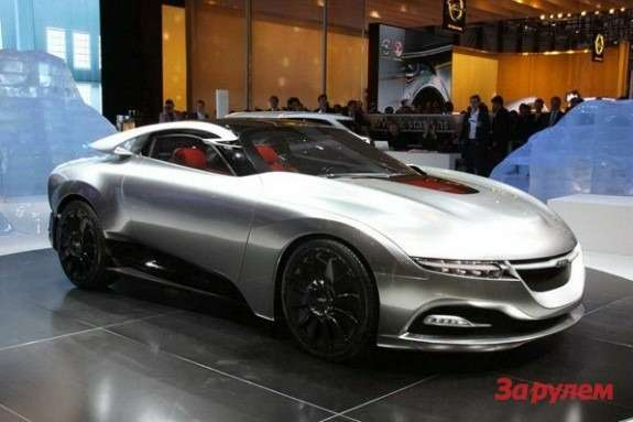 Saab Phoenix concept side-front view
