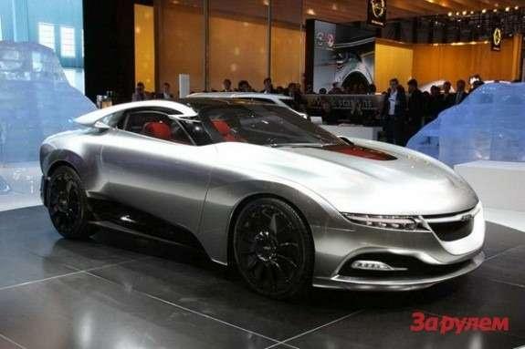 Saab Phoenix concept side-front view