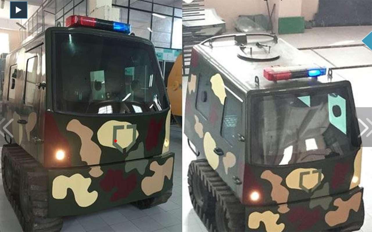 Странные патрульные машины: ужлучше вконную полицию!— фото 1122165