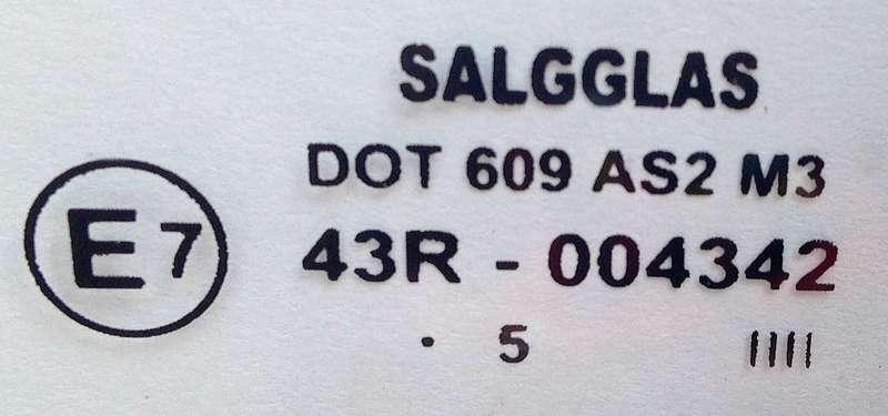 Маркировка лобового стекла автомобиля расшифровка