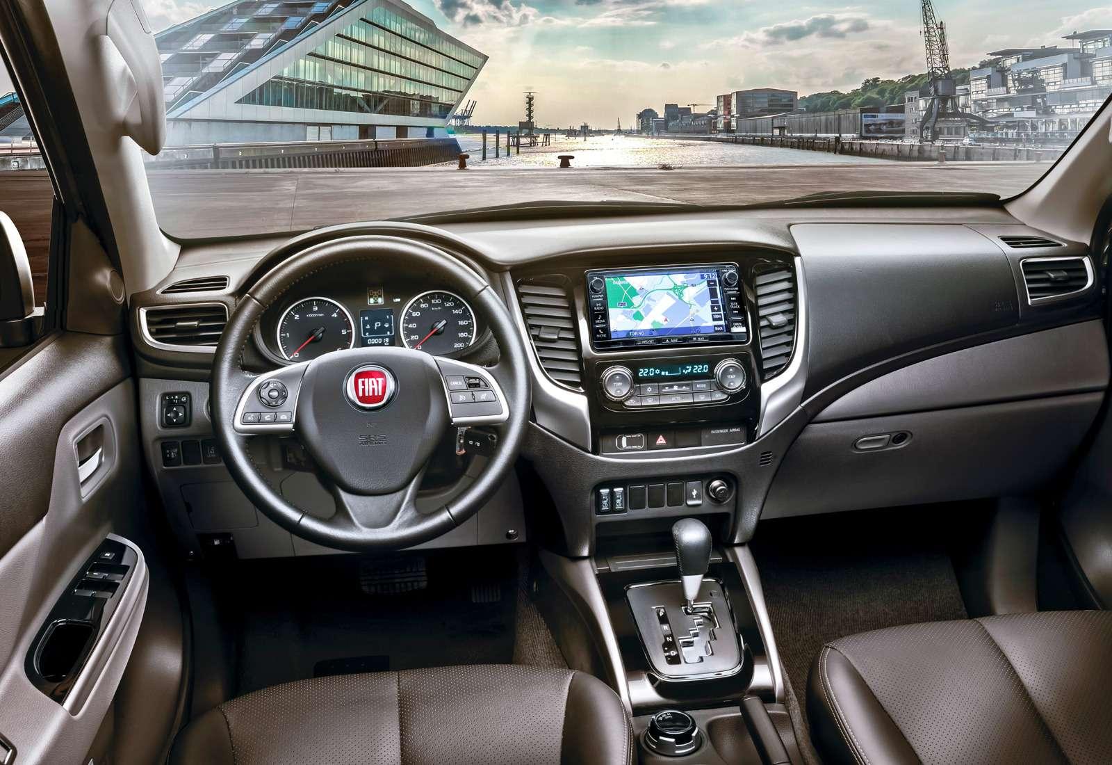 Пикап Fiat Fullback: ищем отличия отMitsubishi  L200— фото 616497