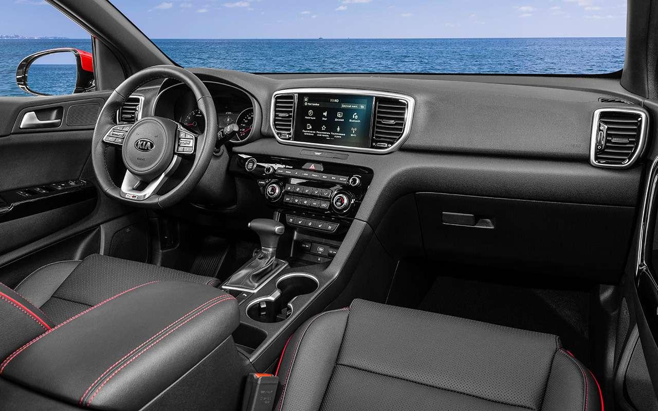 Тест обновленного Kia Sportage: как улучшили бестселлер— фото 928815