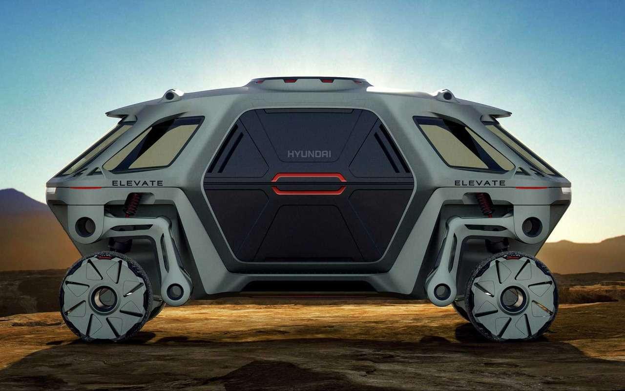 Hyundai представила шагающий автомобиль, или «Мудрые боги выдумали ноги»— фото 938706