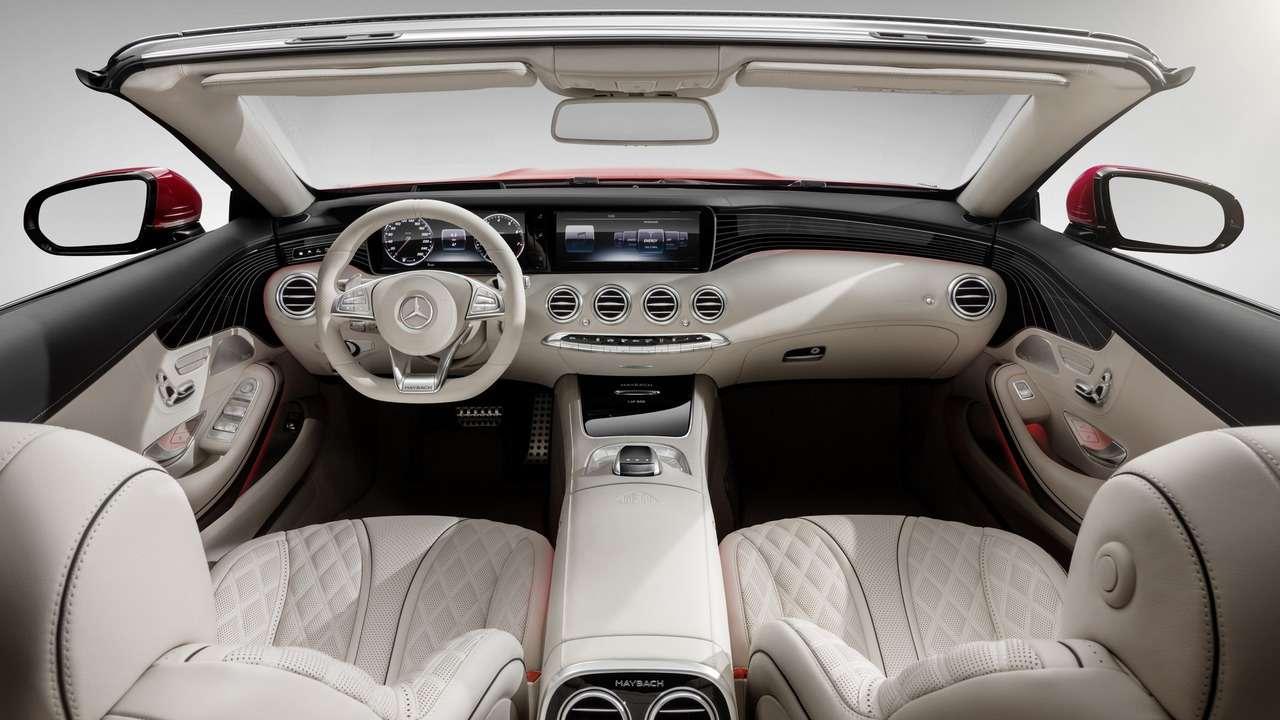 Царская особа: Mercedes-Maybach S650 Cabriolet раскрывает тайны— фото 664448
