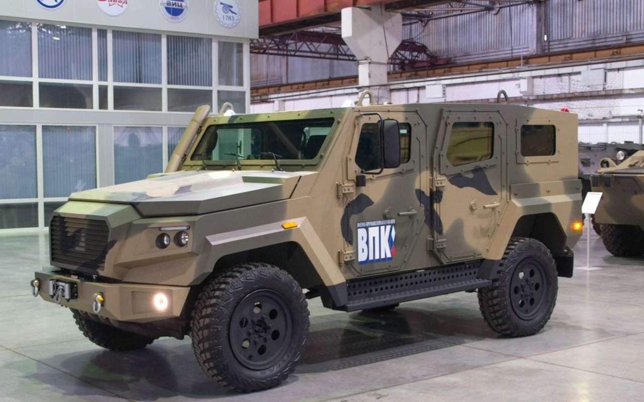 Сделан новый бронеавтомобиль. Все компоненты— российские— фото 1145206