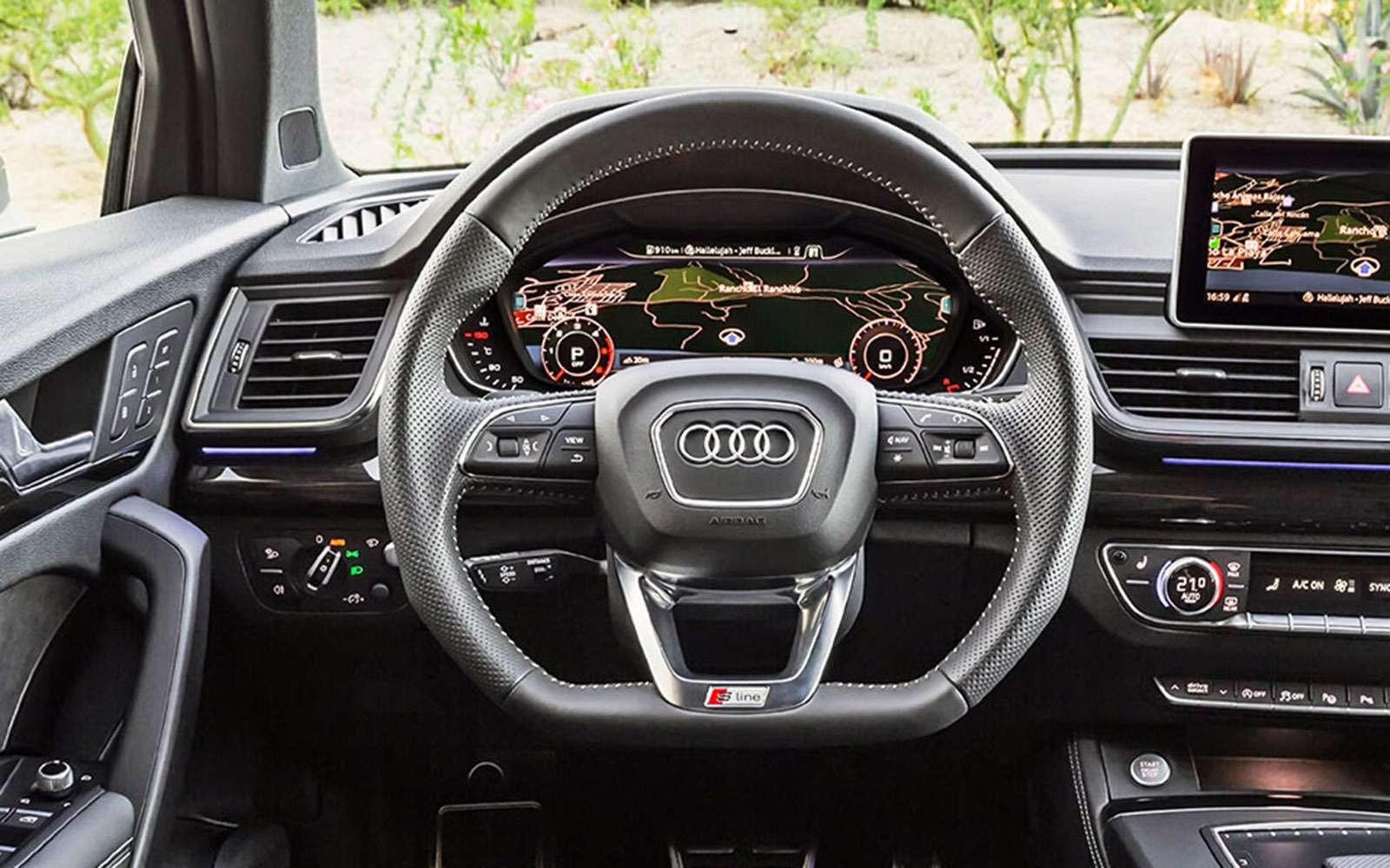 Новый Audi Q5quattro ultra— первый тест— фото 713323