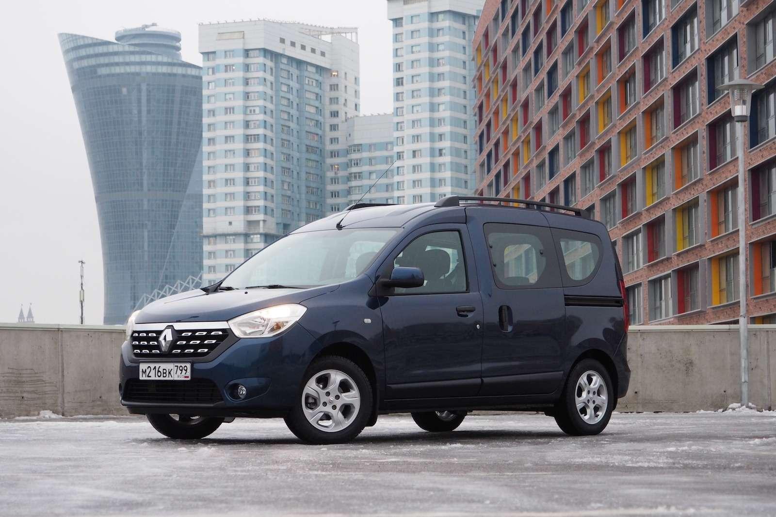 Renault Dokker— первый тест ипервые вопросы— фото 825723