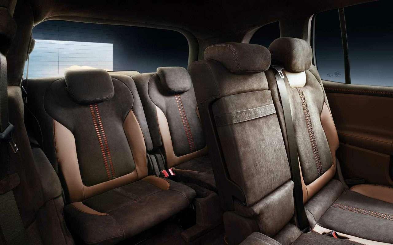 Mercedes-Benz показал компактный семиместный кроссовер— фото 966494