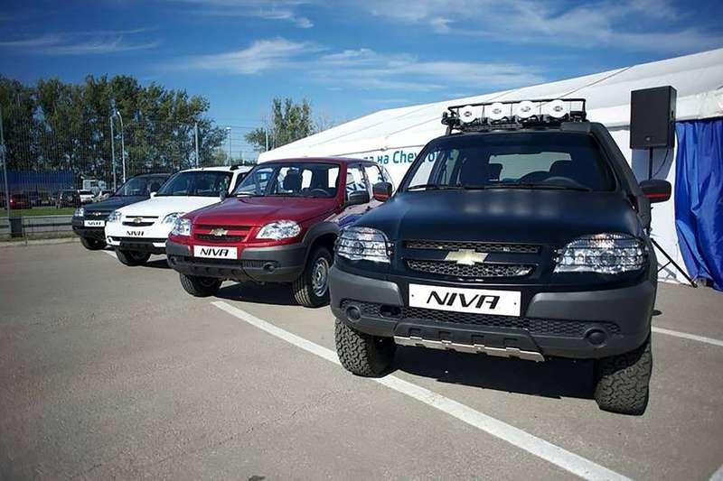С1июля вРФ снова подорожает вседорожный автомобиль Шевроле Niva