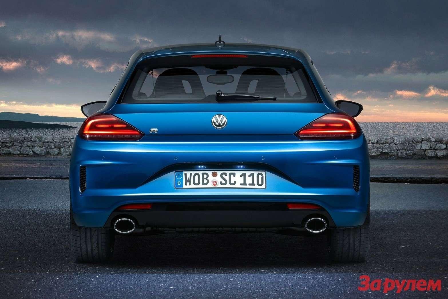 Обновленный Volkswagen Scirocco R
