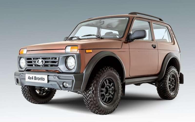 Lada 4x4 Bronto: обновление будет летом