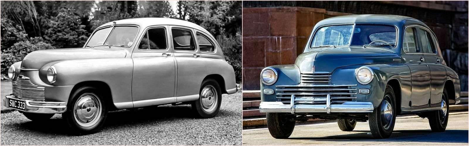 Первые автомобили-клоны: британцы, немцы, шведы...— фото 779930
