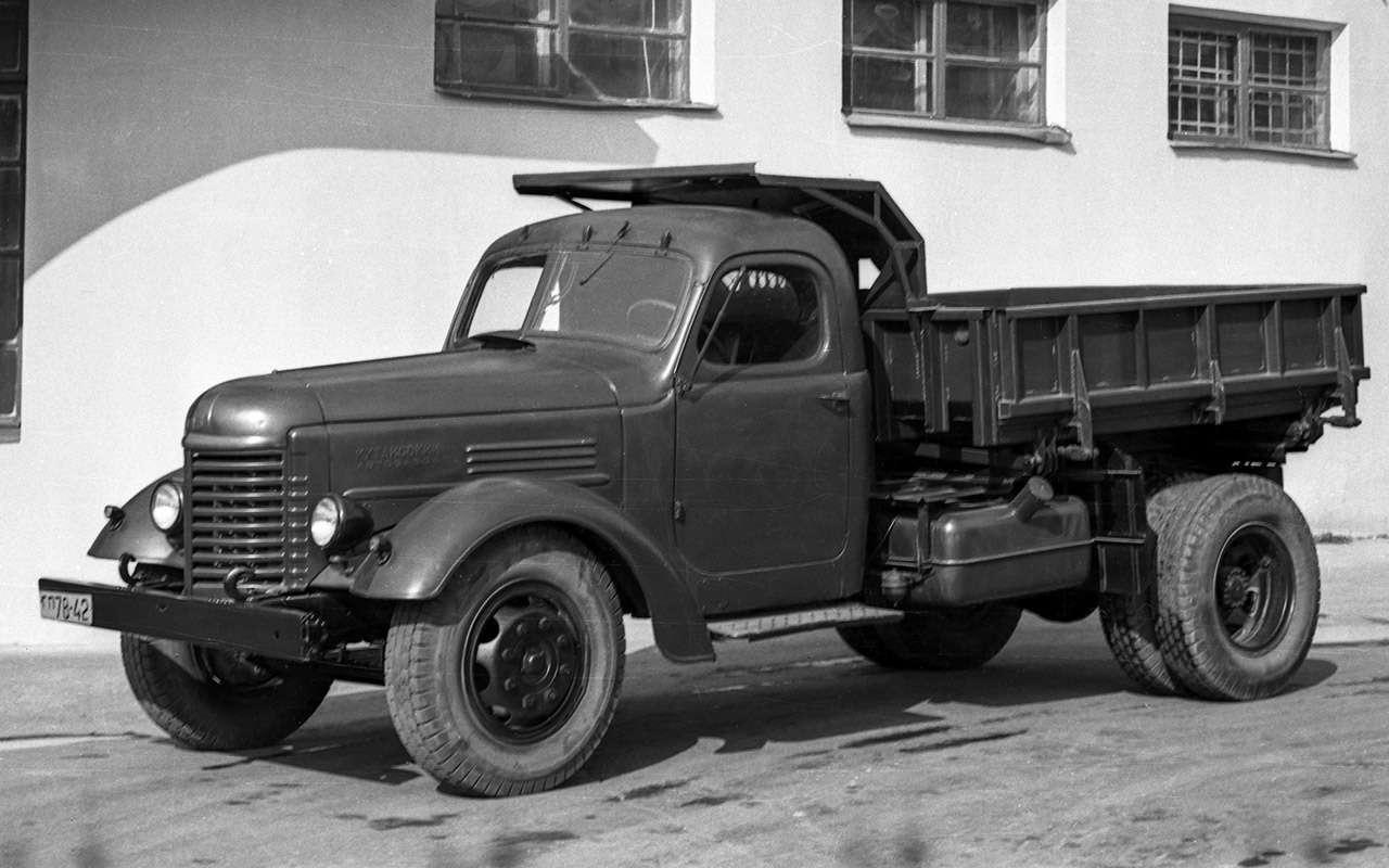 Заслуженный грузовик СССР— ретротест ЗИС-150— фото 1150082
