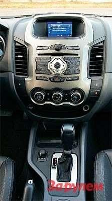 В ручном режиме автомат «Форда» удерживает выбранную передачу практически доограничителя.