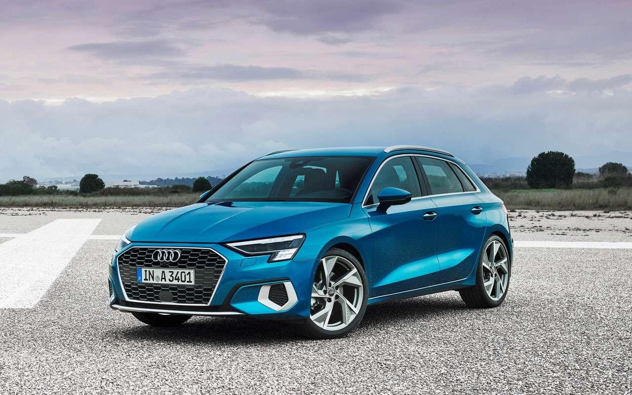 Новый Audi A3появится уже вэтом году— фото 1101050