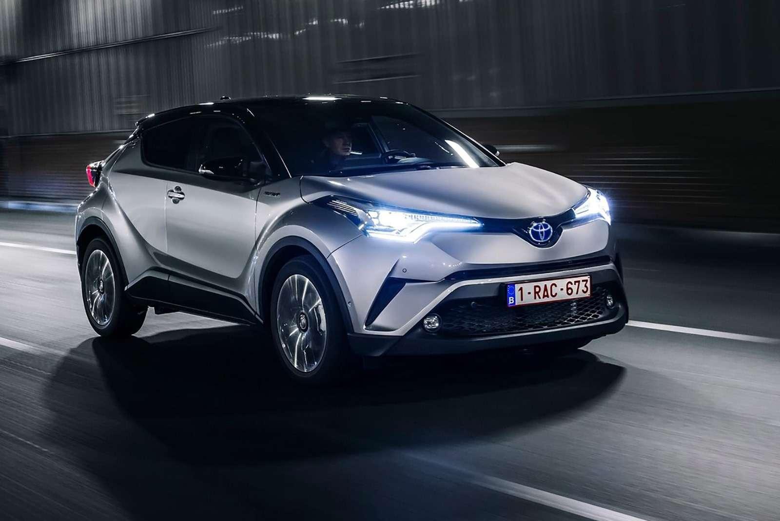 Toyota С-HR: комплектации ицены дляРоссии— фото 882729