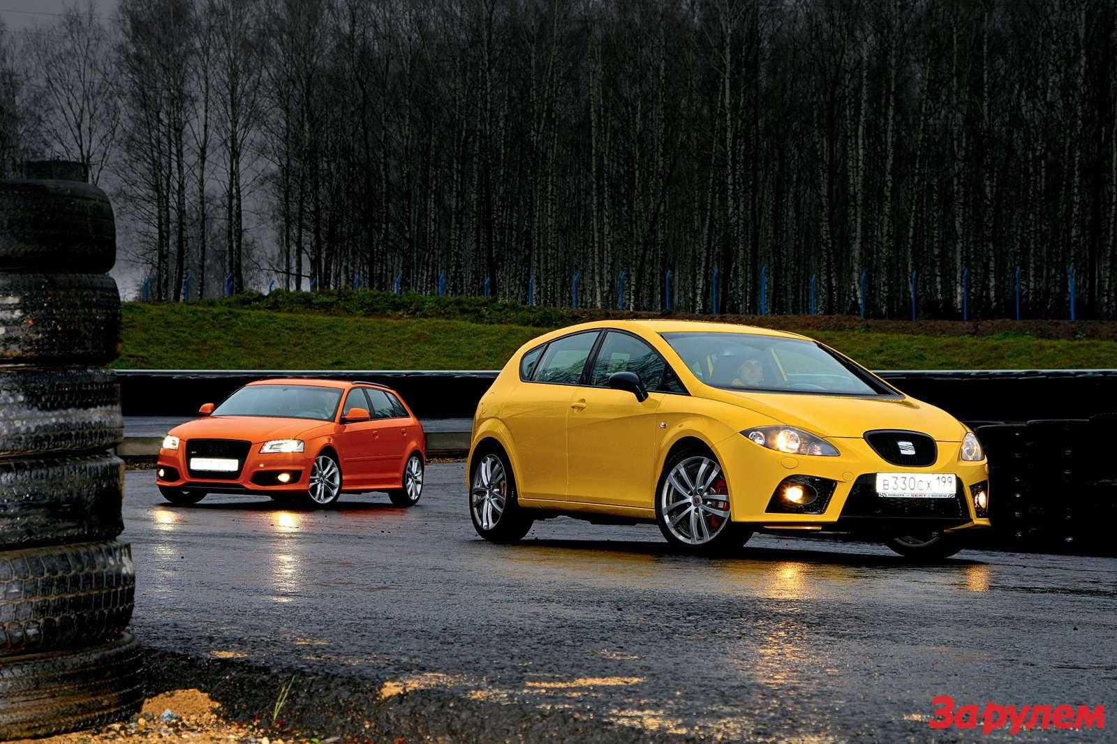 Audi S3, SEAT Leon Cupra