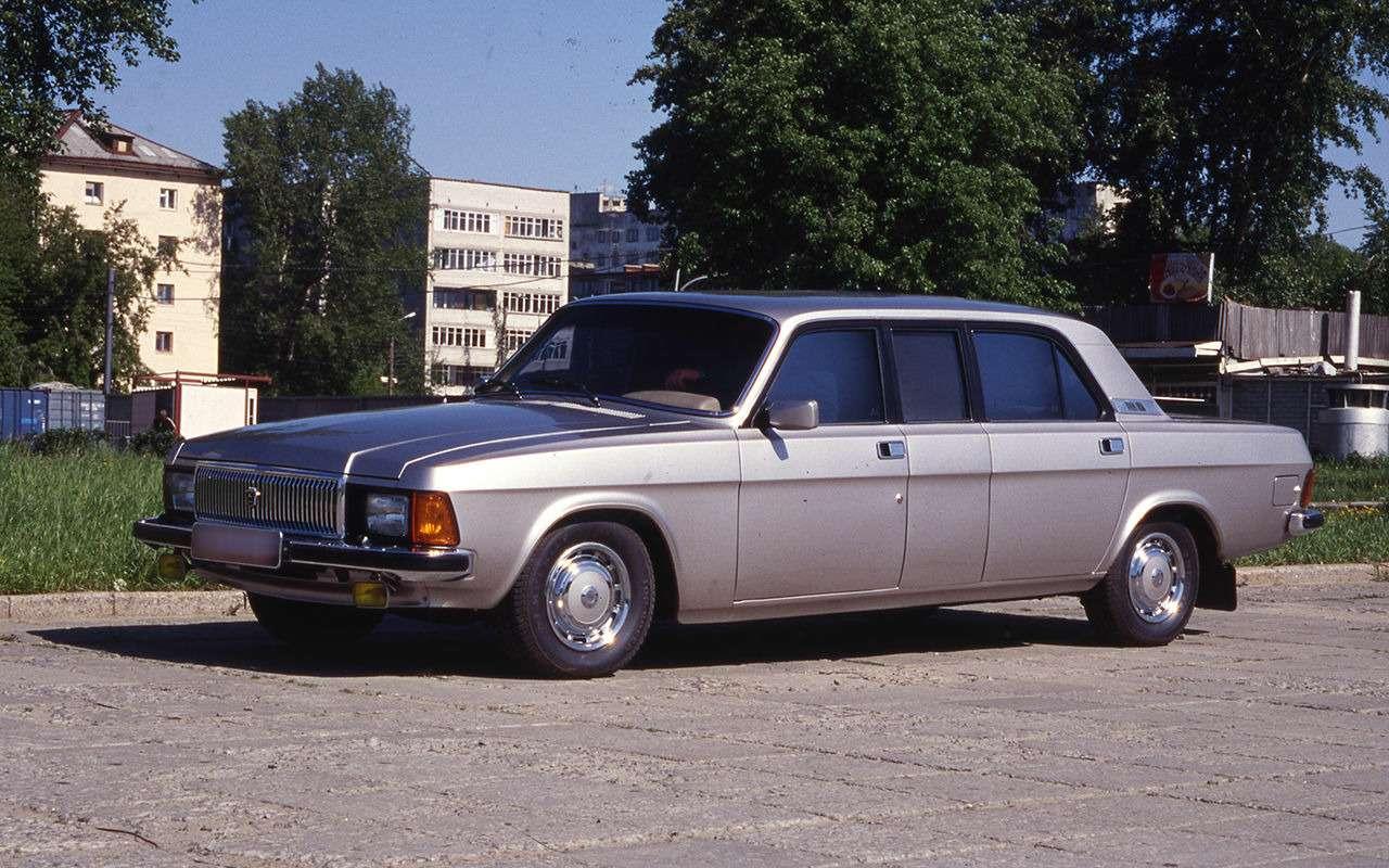 12версий ГАЗ-3102, которых выникогда не видели— фото 1007763