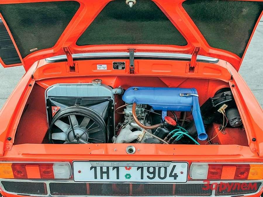 Skoda 110R Coupe: Богемская рапсодия— фото 258345