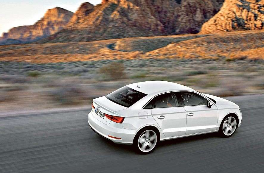 2014-Audi-A3-Sedan-Rear-7-8-Right-Cruising